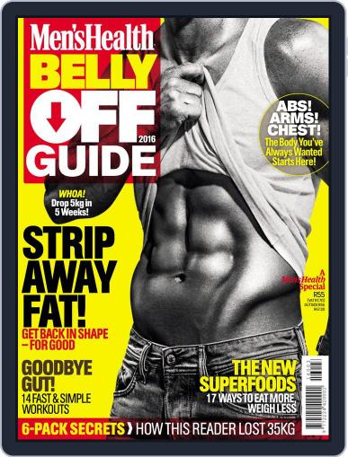 Men's Health Belly Off Guide Magazine (Digital) January 1st, 2016 Issue Cover