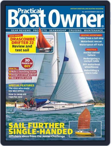 Practical Boat Owner Magazine (Digital) November 1st, 2020 Issue Cover