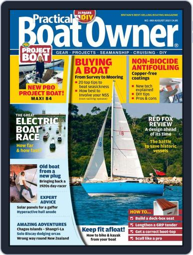 Practical Boat Owner Magazine (Digital) August 1st, 2021 Issue Cover