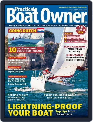 Practical Boat Owner Magazine (Digital) February 1st, 2021 Issue Cover