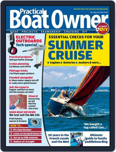 Practical Boat Owner Magazine (Digital) July 1st, 2021 Issue Cover