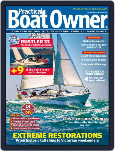 Practical Boat Owner Magazine (Digital) March 1st, 2021 Issue Cover