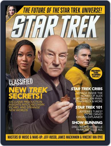 Star Trek Magazine (Digital) January 1st, 2021 Issue Cover