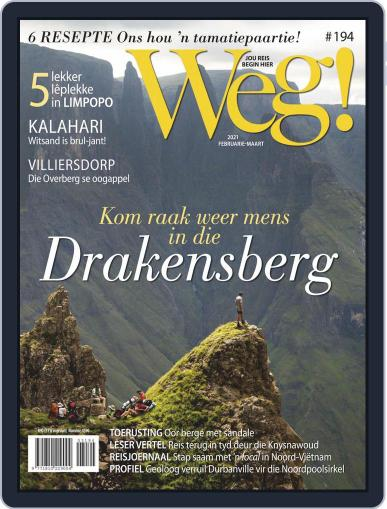 Weg! Magazine (Digital) February 1st, 2021 Issue Cover