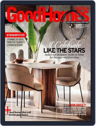 GoodHomes India Magazine (Digital) November 1st, 2020 Issue Cover