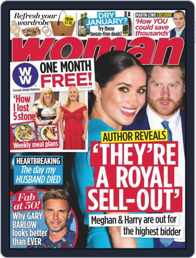 Woman Magazine (Digital) January 25th, 2021 Issue Cover