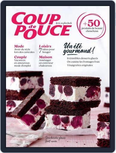 Coup De Pouce Magazine (Digital) July 1st, 2021 Issue Cover