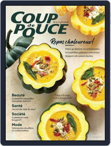 Coup De Pouce Magazine (Digital) November 1st, 2021 Issue Cover