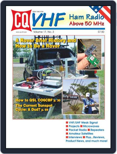 Cq Vhf November 25th, 2013 Digital Back Issue Cover