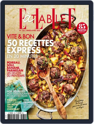ELLE à Table Magazine (Digital) March 1st, 2021 Issue Cover