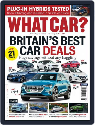 What Car? Magazine (Digital) June 1st, 2021 Issue Cover
