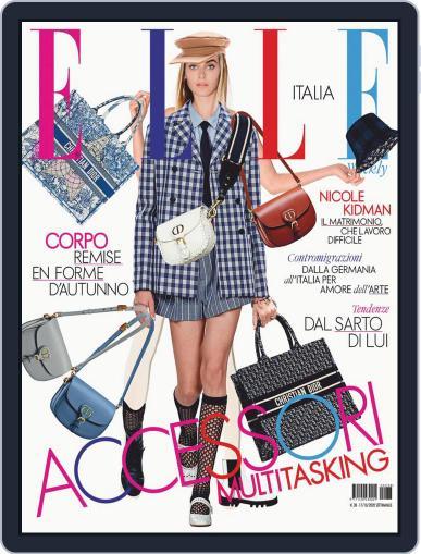 Elle Italia Magazine (Digital) October 17th, 2020 Issue Cover