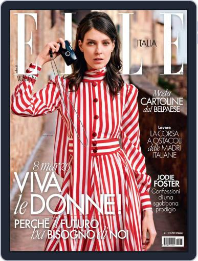 Elle Italia Magazine (Digital) March 13th, 2021 Issue Cover