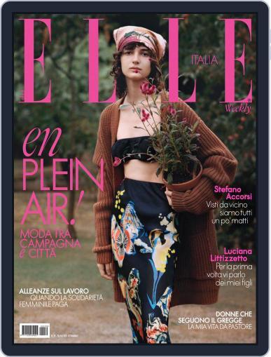 Elle Italia Magazine (Digital) October 23rd, 2021 Issue Cover