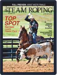 The Team Roping Journal Magazine (Digital) Subscription December 1st, 2020 Issue
