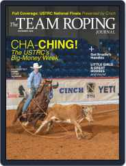 The Team Roping Journal Magazine (Digital) Subscription November 1st, 2020 Issue