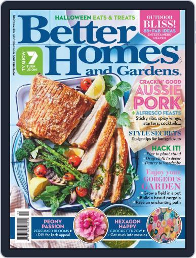 Better Homes and Gardens Australia Magazine (Digital) November 1st, 2020 Issue Cover