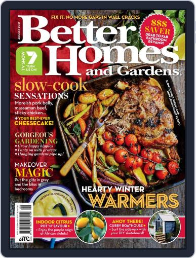 Better Homes and Gardens Australia Magazine (Digital) August 1st, 2021 Issue Cover