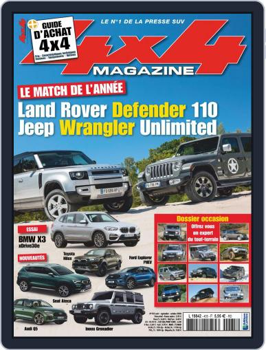 4x4 Magazine (Digital) August 1st, 2020 Issue Cover