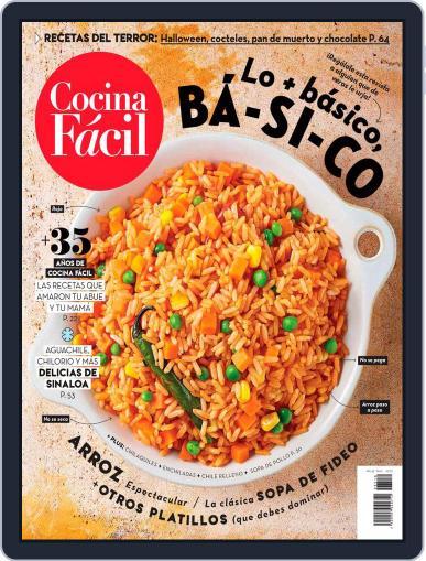 Cocina Fácil Magazine (Digital) October 1st, 2020 Issue Cover