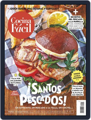 Cocina Fácil Magazine (Digital) March 1st, 2021 Issue Cover