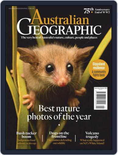 Australian Geographic Magazine (Digital) September 1st, 2020 Issue Cover