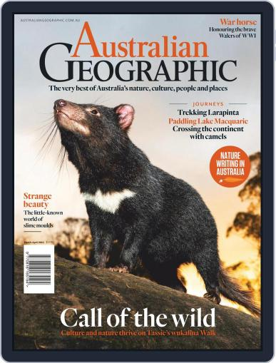 Australian Geographic Magazine (Digital) March 1st, 2021 Issue Cover