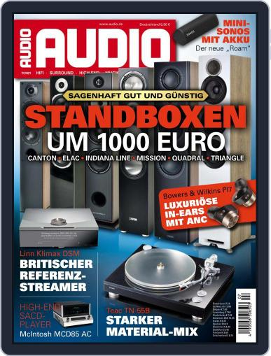 Audio Germany Magazine (Digital) July 1st, 2021 Issue Cover