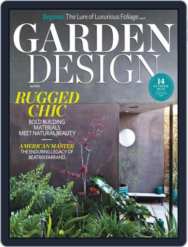 Garden Design March 2nd, 2013 Digital Back Issue Cover