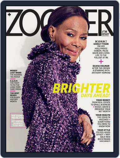Zoomer Magazine (Digital) February 1st, 2021 Issue Cover