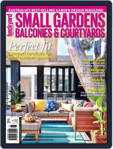 Small Gardens, Balconies & Courtyards May 14th, 2015 Digital Back Issue Cover