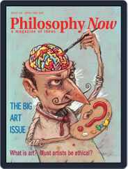 Philosophy Now Magazine (Digital) Subscription April 1st, 2021 Issue
