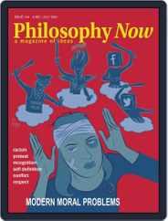 Philosophy Now Magazine (Digital) Subscription June 1st, 2021 Issue