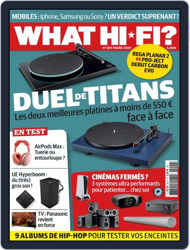 What Hifi France Magazine (Digital) March 1st, 2021 Issue Cover