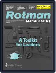 Rotman Management Magazine (Digital) Subscription August 17th, 2020 Issue