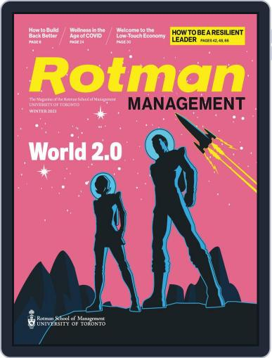 Rotman Management Magazine (Digital) December 10th, 2020 Issue Cover