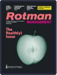 Rotman Management Magazine (Digital) Subscription April 9th, 2021 Issue