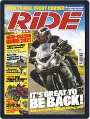 RiDE United Kingdom Magazine (Digital) Subscription April 14th, 2021 Issue