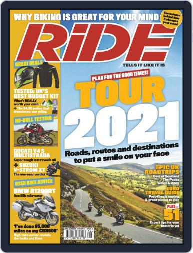 RiDE United Kingdom Magazine (Digital) February 10th, 2021 Issue Cover