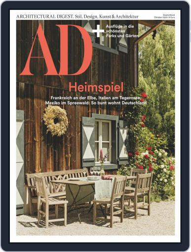 AD (D) Magazine (Digital) October 1st, 2020 Issue Cover