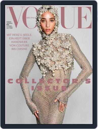 Vogue (D) Magazine (Digital) July 1st, 2021 Issue Cover