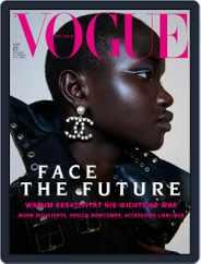 Vogue (D) Magazine (Digital) Subscription March 1st, 2021 Issue