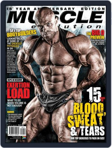 Muscle Evolution September 1st, 2018 Digital Back Issue Cover