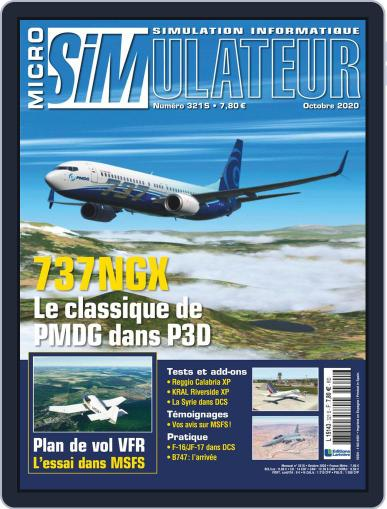 Micro Simulateur Magazine (Digital) October 1st, 2020 Issue Cover