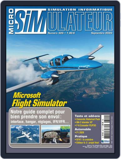 Micro Simulateur Magazine (Digital) September 1st, 2020 Issue Cover