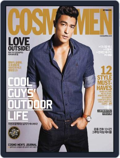 Cosmo Men Korea (Digital) September 1st, 2013 Issue Cover