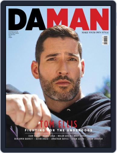 Da Man Magazine (Digital) August 1st, 2020 Issue Cover