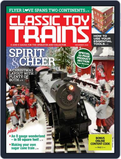 Classic Toy Trains Magazine (Digital) December 1st, 2020 Issue Cover