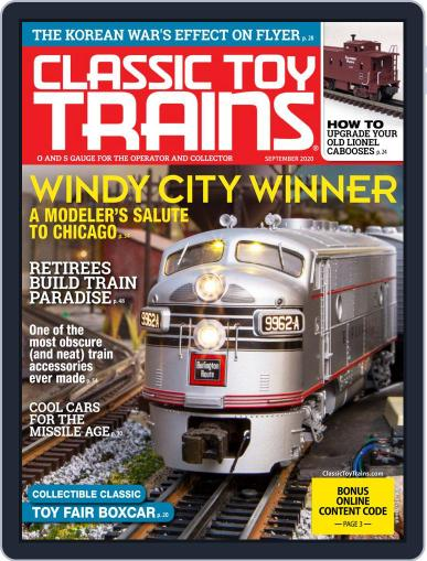 Classic Toy Trains Magazine (Digital) September 1st, 2020 Issue Cover