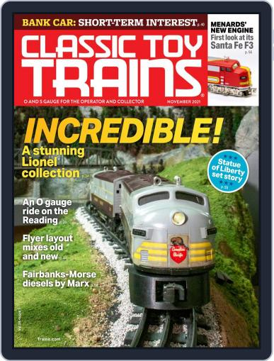 Classic Toy Trains Magazine (Digital) November 1st, 2021 Issue Cover